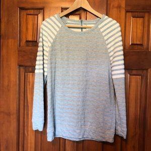 Lou & Grey Striped Sweatshirt S